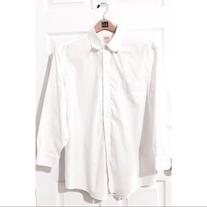 Brooks Brothers White Original Polo button down